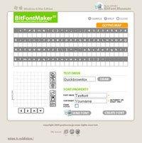 BitFontMaker, crea tu fuente pixelada