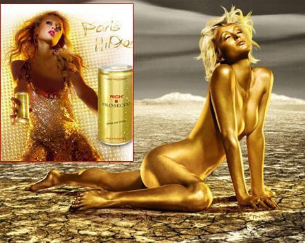 Champagne de Paris Hilton, ¡lo que faltaba!