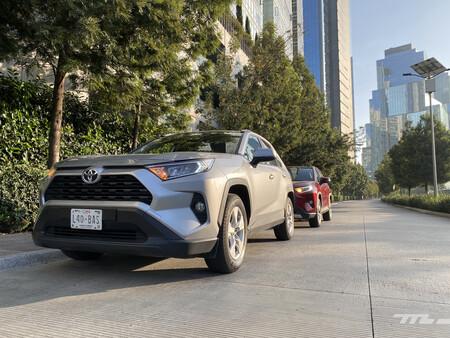 Consumo híbrido Toyota RAV4 mexico 2