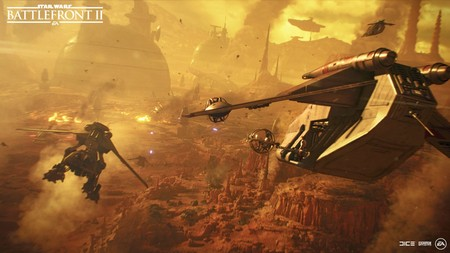 Star Wars Battlefront 2 Geonosis