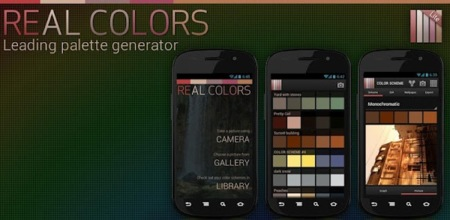 Real Colors, crea esquemas de color desde tu Android