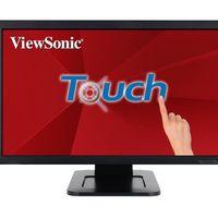 Monitor multitáctil de 24 pulgadas ViewSonic TD2421, con resolución FullHD, por 219,99 euros y envío gratis