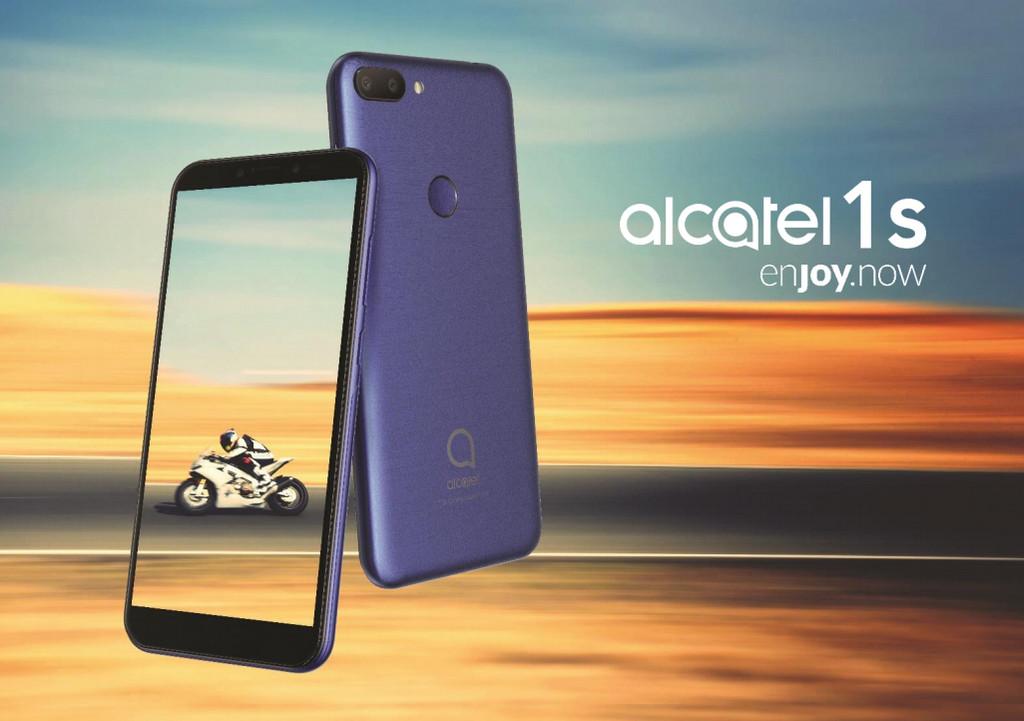 Alcatel 1S: un gama de entrada con cámara dual y 3 GB de RAM a un precio(valor) asequible