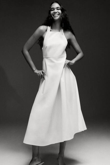 Vestido Blanco De Zara 1