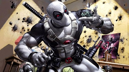 It Looks Like Deadpool Might Be Sporting His Grey X Force Suit In Deadpool 2 Social