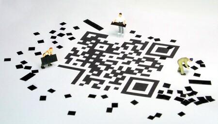 Un código QR
