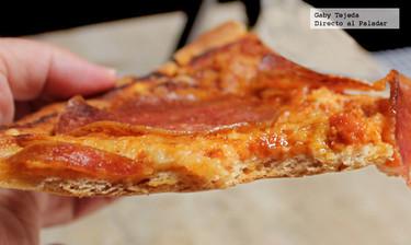 Receta: Masa delgada y crujiente para pizza
