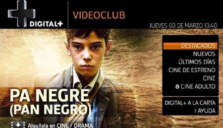 Digital+ Videoclub, el nuevo servicio de alquiler de películas a través de internet