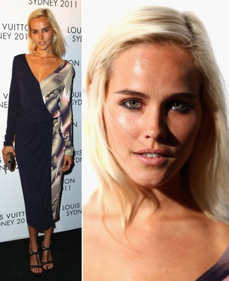 Isabel Lucas Louis Vuitton