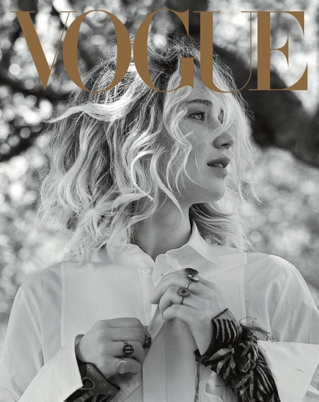 Jennifer Lawrence Vogue Us September 2017 Cover2