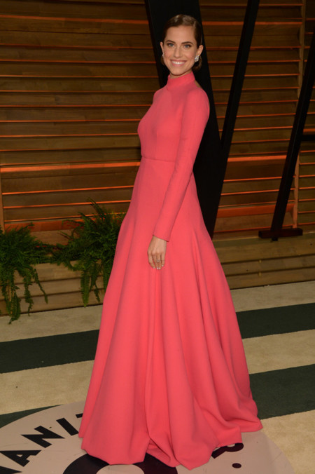 Fiesta Vanity Fair Oscar Allison Williams Emilia Wickstead