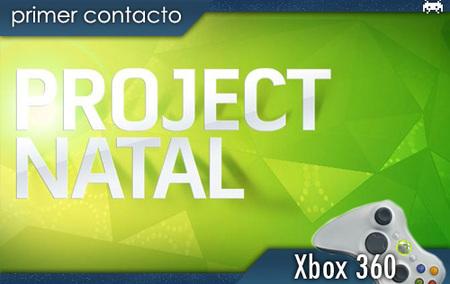 Project Natal. Primer contacto [TGS 2009]