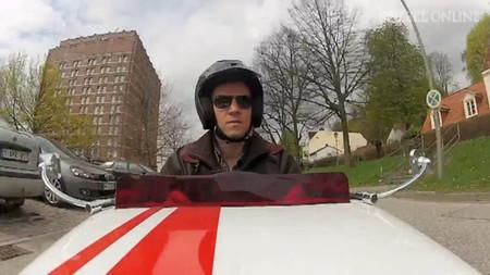 La próxima vez que vayas a Hamburgo o a Berlín, date una vuelta en un mini hot rod