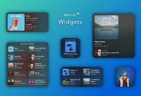 Marvis Pro, el reproductor alternativo para Apple Music, se actualiza con nuevos widgets para iOS 14