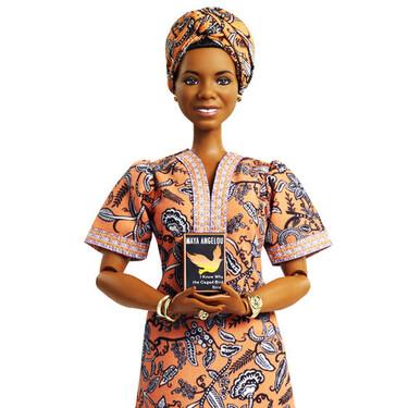 Mattel homenajea a la escritora y activista Maya Angelou con su nueva muñeca