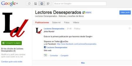Google+ a fondo: ¿Cómo crear una página en la red social de Google?