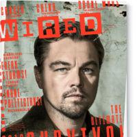 Leonardo di Caprio se adecenta para la portada de la revista  Wired
