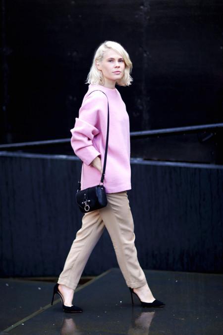 Un estilo para cada día de la semana 20 rosa pastel