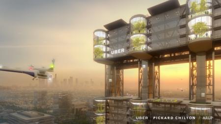 Uber Air Vertiports