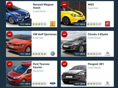 Las 5 estrellas EuroNCAP, cada vez más difíciles: de 6 modelos sólo las sacó el Golf SV