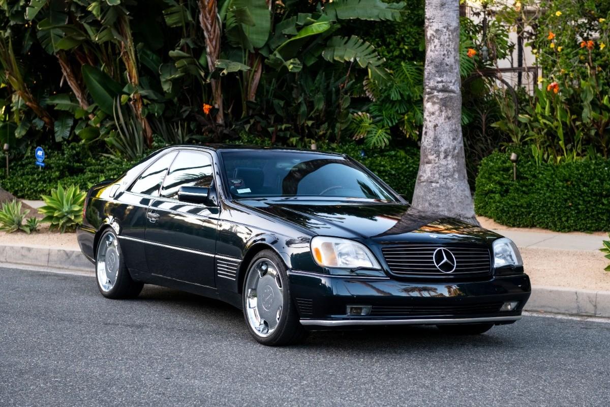 Foto de El Mercedes Benz S600 Lorinser de Michael Jordan, a subasta (1/18)