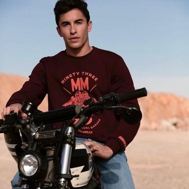 Marc Márquez y su nueva colaboración con Pull&Bear retoman la adrenalina del estilo deportivo