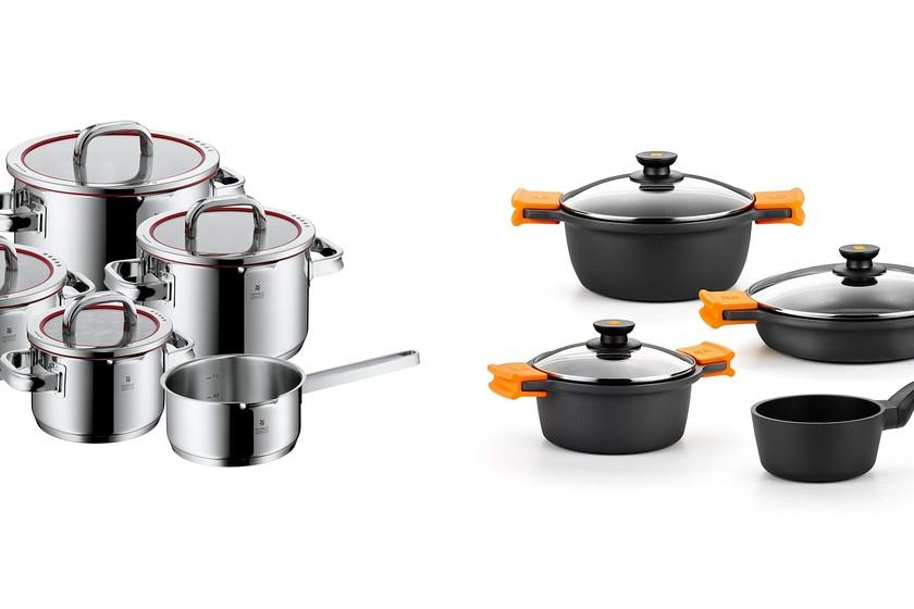 Ofertas en bater as de cocina wmf bra y san ignacio en for Amazon bateria cocina