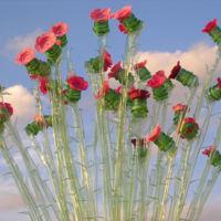 Recicladecoración: plantas artificiales hechas con botellas de plástico