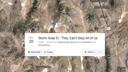 La quedada para asaltar el Área 51 ya ha sido un éxito: ha inundado las redes de desconcierto