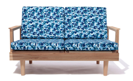 A Bathing Ape sofa 2 plazas