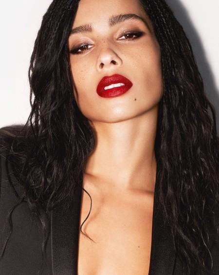 Zoë Kravitz estrena look para convertirse en Catwoman