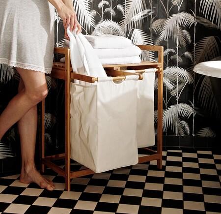 Mueble para la ropa sucia