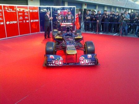 Presentación del Toro Rosso STR7