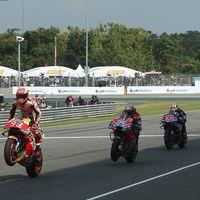 Los tailandeses dan una lección de respeto a los aficionados europeos de MotoGP