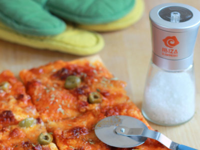 Pizza Islas Baleares. Receta
