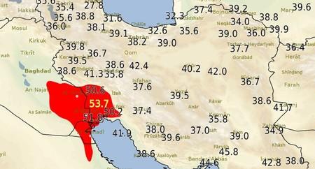 54º C en una ciudad de Irán: el futuro cotidiano se parece bastante al infierno