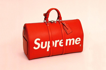 Louis Vuitton Supreme Duffle Bag