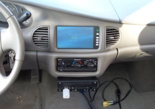 Windows Media Center en el Buick