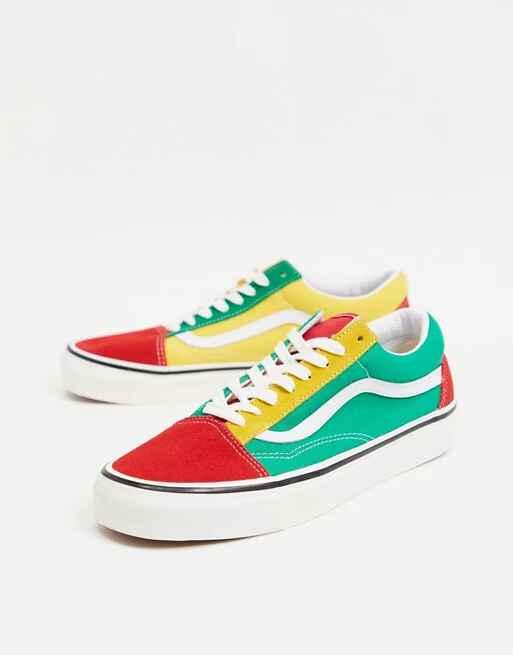 Zapatillas de deporte multicolorrd Old Skool 36 DX de Vans