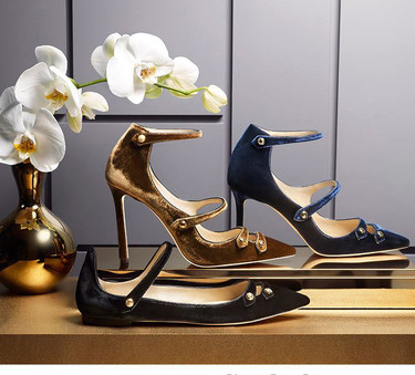 Zapatillas y zapatos de terciopelo ¡únete a la moda velvet!