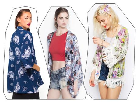 Tendencias 2014 Kimonos flechazos verano