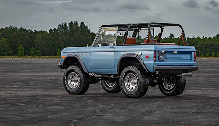 Ford Bronco 1973 Velocity Restorations