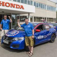 De viaje por Europa para batir récord de consumo con un Honda Civic Tourer