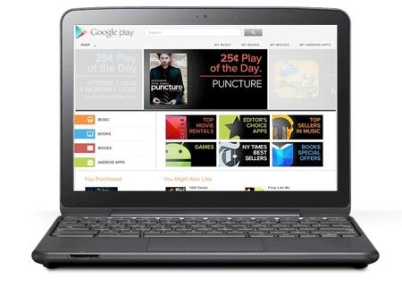 Google Play, el servicio integrado de contenidos de Google