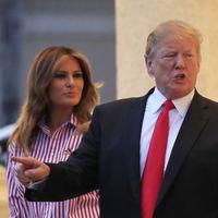Melania Trump celebra la Super Bowl 2019 con un atuendo de lo más patriótico