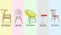Top 5 Sillas de diseño más populares de todos los tiempos