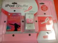 iPods shuffle rosa para ayudar en la investigación contra el cáncer de mama