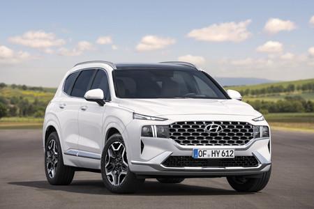 El Hyundai Santa Fe 2021 recibe un facelift a sólo 2 años de su estreno, y cambia más que sólo el diseño