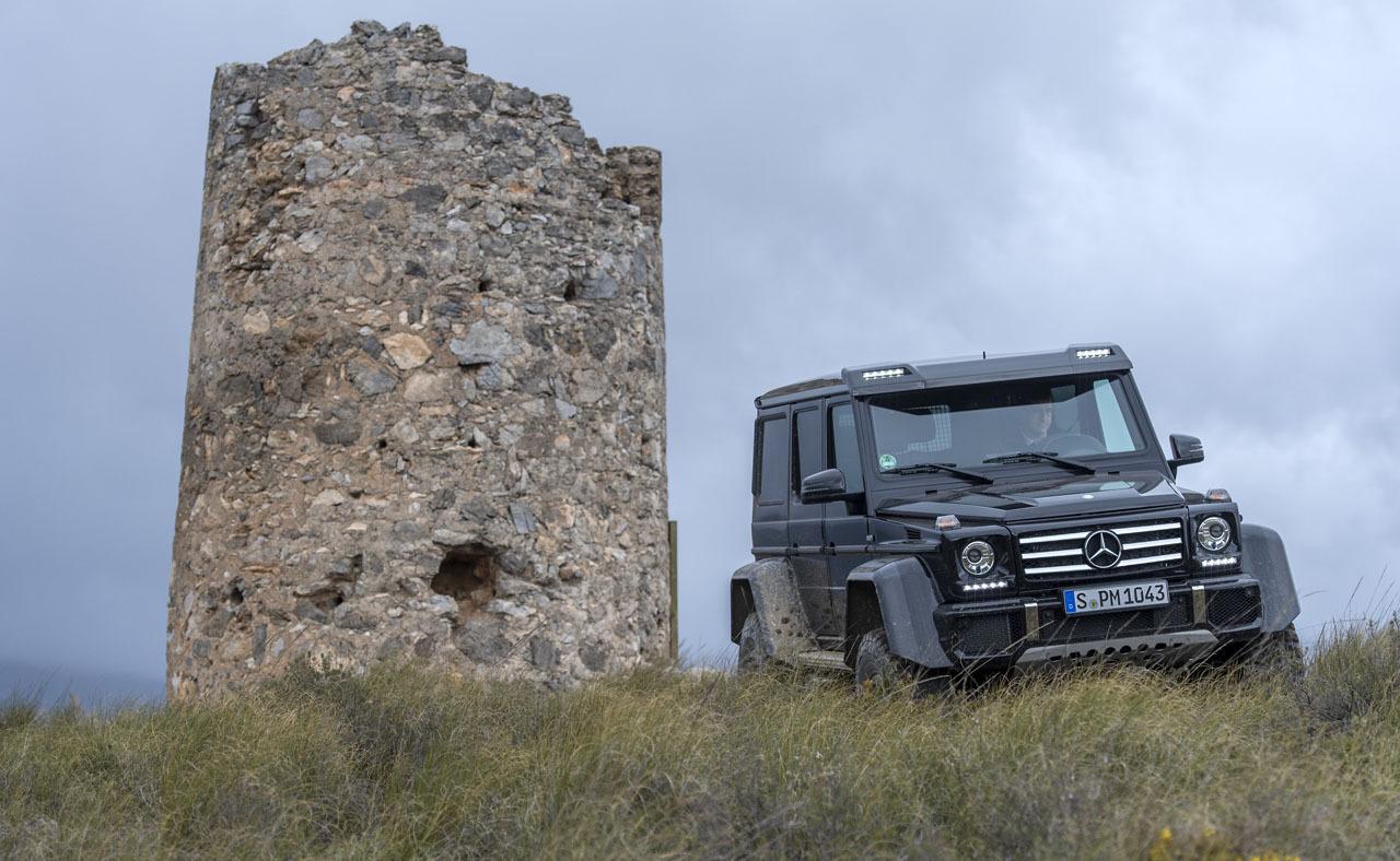 Foto de Mercedes-Benz G 500 4x4², toma de contacto (64/127)