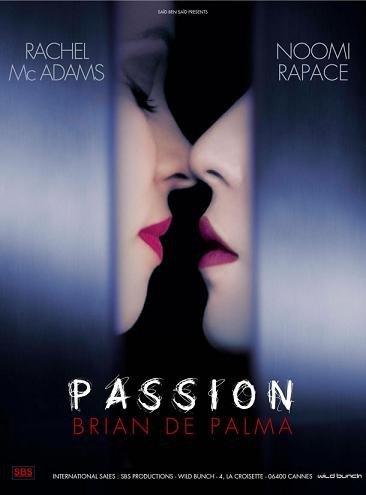 Imagen con el cartel de 'Passion', película de Brian De Palma